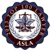 American Society of Legal Advocates - Top 100 - 2013
